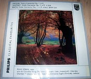 HAYDN - MOZART - BACH - ISAAC STERN - Violin Concertos