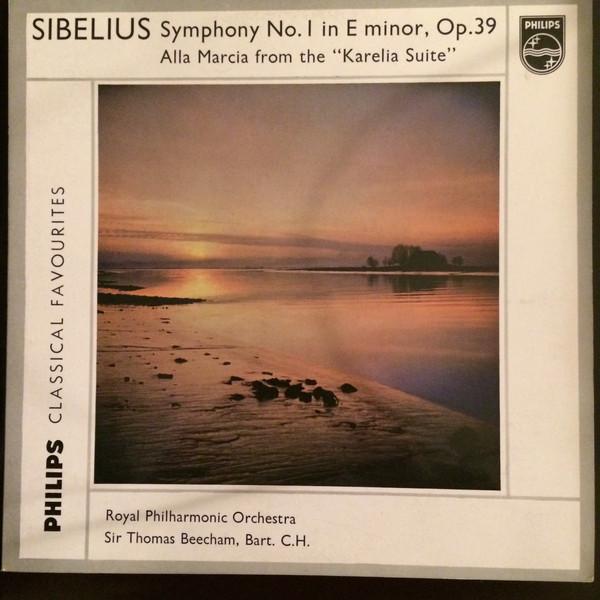 SIBELIUS - SYMPHONY NO.1 IN E MINOR, OP.39