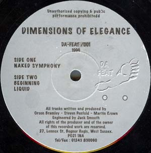 Dimensions Of Elegance - Naked Symphony / Beginning / Liquid