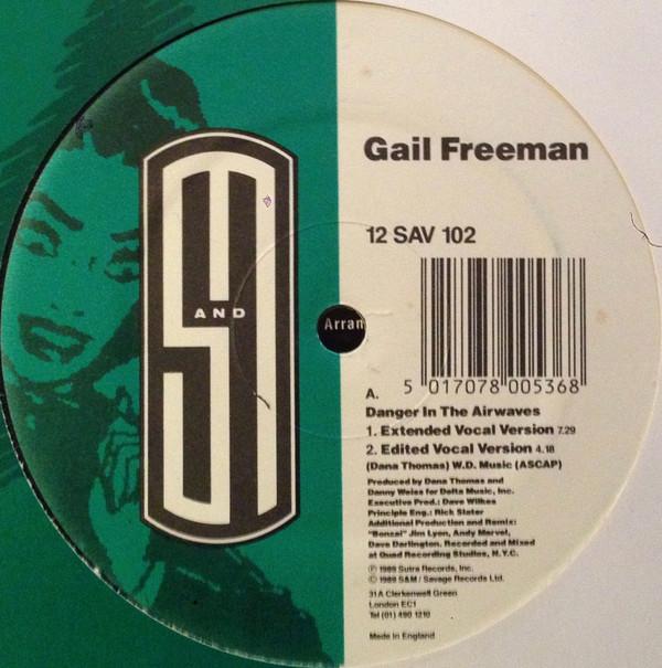 Gail Freeman - Danger In The Airwaves
