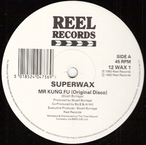 Superwax - Mr Kung Fu
