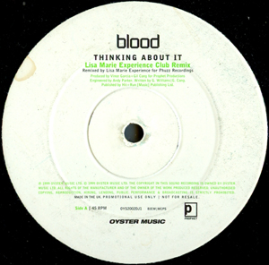 Blood - Thinking About It