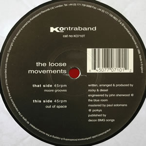 THE LOOSE MOVEMENTS - MOORE GROOVES