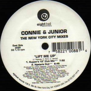 CONNIE & JUNIOR - LIFT ME UP (THE NEW YORK CITY MIXES)