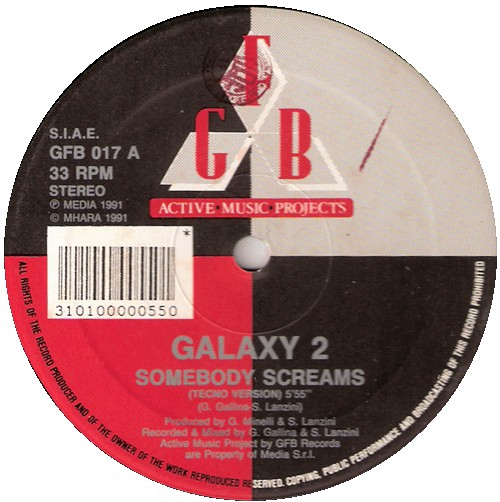 GALAXY 2 - SOMEBODY SCREAMS