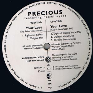 Precious - Your Love