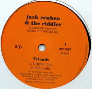 Jack Reuben & Riddler, The - Friends