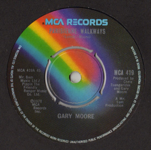 Gary Moore - Parisienne Walkways Album