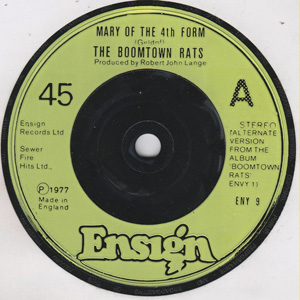 Boomtown Rats, The - Mary Of The 4th Form (Alternate Version)