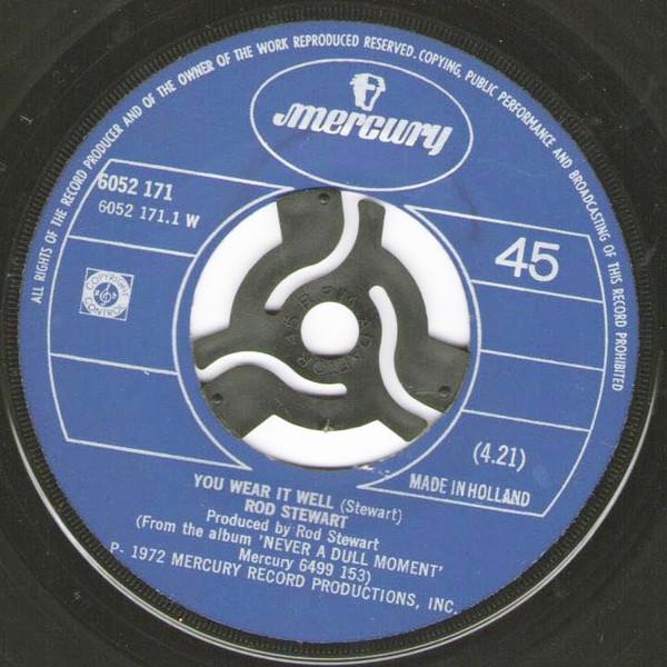 Rod Stewart - You Wear It Well / Lost Paraguayos