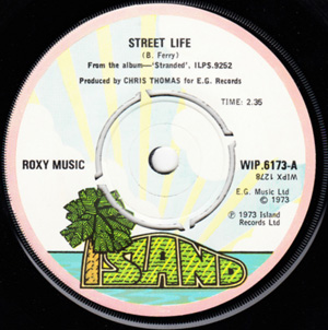 Roxy Music - Street Life / Hula-Kula