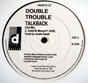 Double Trouble - Talk Back