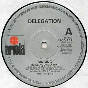 Delegation - Singing