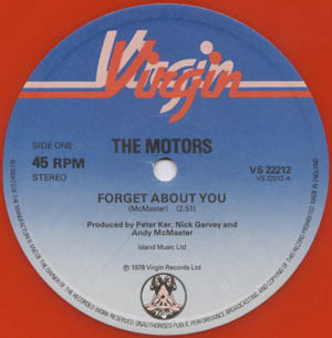 Motors, The - Forget About You