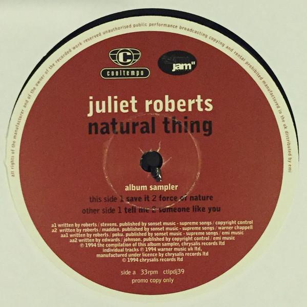 Juliet Roberts - Natural Thing (Album Sampler)