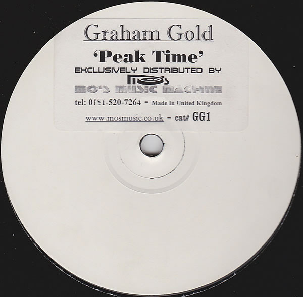 GRAHAM GOLD - PEAK TIME (ONE SIDED LTD)