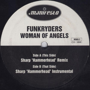 FUNKRYDERS - WOMAN OF ANGELS