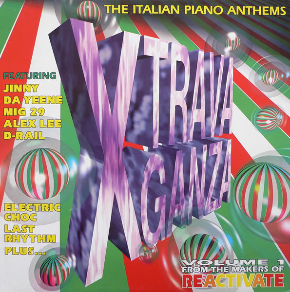 VARIOUS ARTISTS - XTRAVAGANZA - THE ITALIAN PIANO ANTHEMS