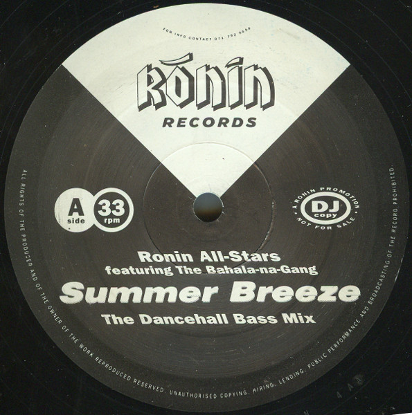 RONIN ALL-STARS - SUMMER BREEZE