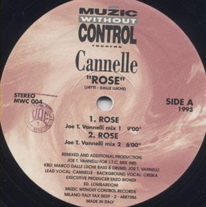 Cannelle - Rose / La Vie En Rose