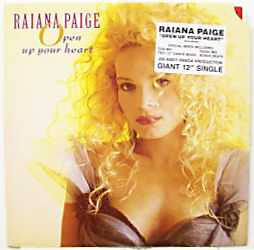 Raiana Paige - Open Up Your Heart (White Label)