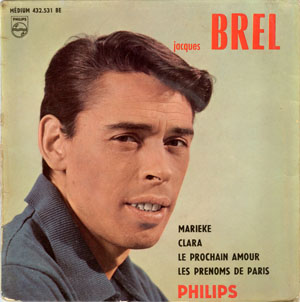 Jacques Brel Records Vinyl And Cds Hard To Find And Out