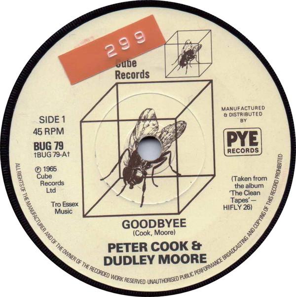 Peter Cook & Dudley Moore - Goodbyee