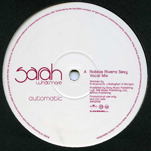 Sarah Whatmore - Automatic