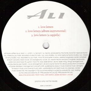 Ali - Love Letters