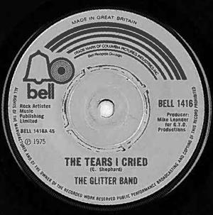 Glitter Band, The - The Tears I Cried
