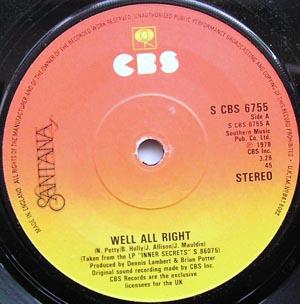 Santana - Well All Right