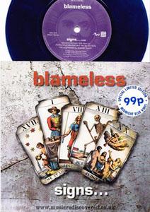 Blameless - Signs?