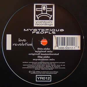 MYSTERIOUS PEOPLE - LOVE REVOLUTION