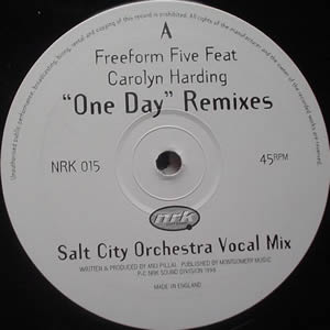 FREEFORM FIVE ft CAROLYN HARDING - ONE DAY (REMIXES)