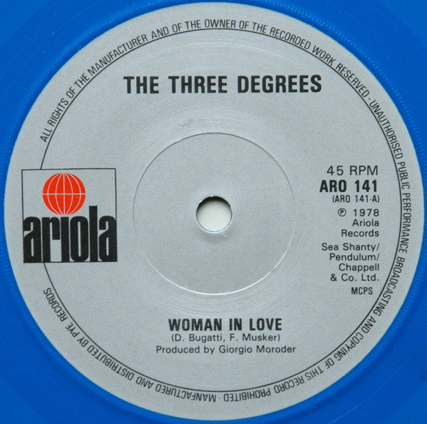 Three Degrees, The - Woman In Love