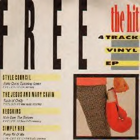 Various - The Hit RED Hot EP