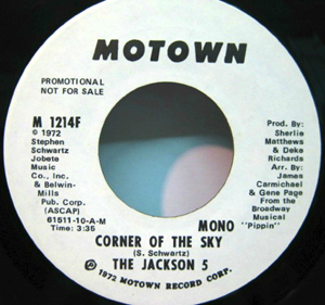 Jackson 5, The - Corner Of The Sky