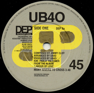 UB40 - Many Rivers To Cross