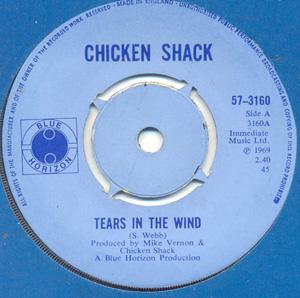 Chicken Shack - Tears In The Wind