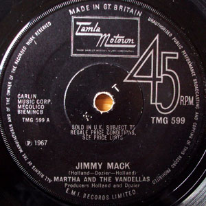 Martha And The Vandellas - Jimmy Mack / Third Finger, Left Hand