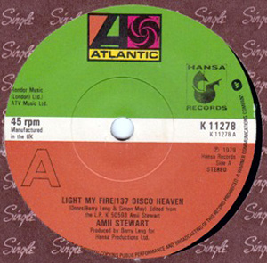Amii Stewart - Light My Fire/137 Disco Heaven