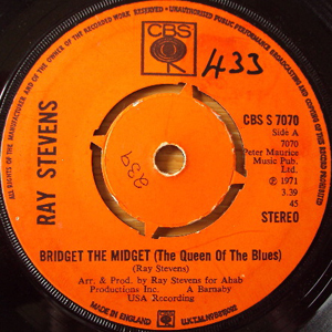 Ray Stevens - Bridget The Midget (The Queen Of The Blues)