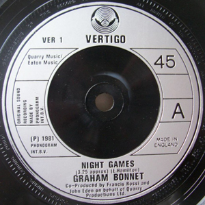 Graham Bonnet - Night Games