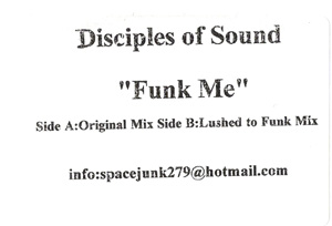 Disciples Of Sound - Funk Me