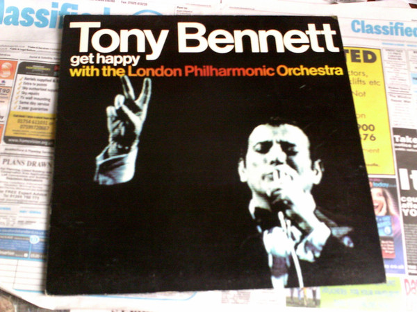 TONY BENNETT - GET HAPPY WITH THE LONDON PHILHARMONIC ORCHESTRA