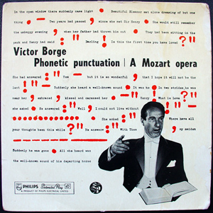 VICTOR BORGE - Phonetic Punctuation / A Mozart Opera - 45T x 1