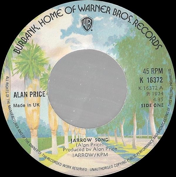 Alan Price - Jarrow Song