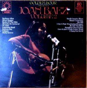 Joan Baez - Golden Hour Presents Joan Baez Volume 2