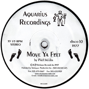 PAUL JACOBS - MOVE YA FEET
