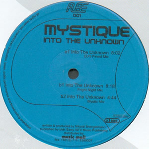 MYSTIQUE - INTO THE UNKNOWN